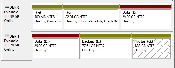Partition Hard drive in Windows 10 - 15