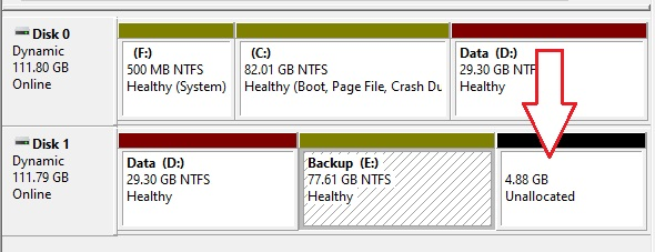 Partition Hard drive in Windows 10 - 17