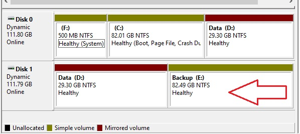 Partition Hard drive in Windows 10 - 23
