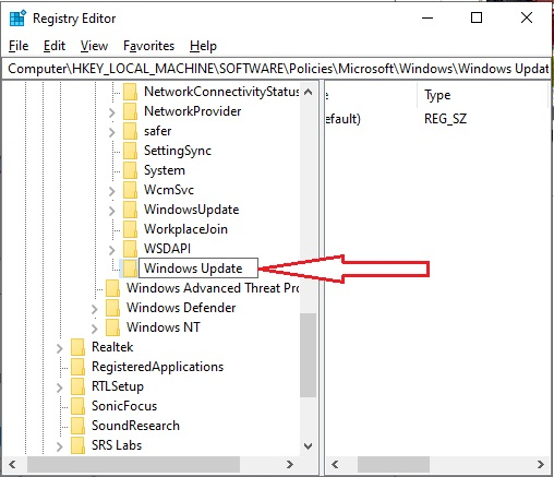 Stop Windows Update 10 - 3.3