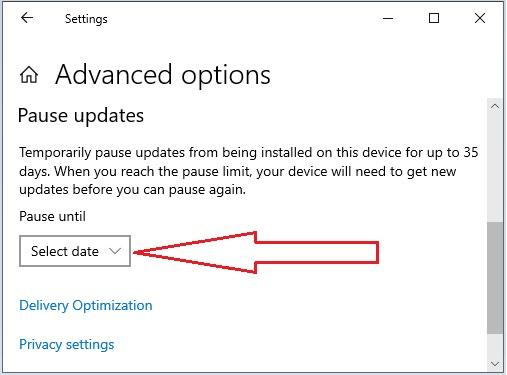 Stop Windows Update 10 - 3