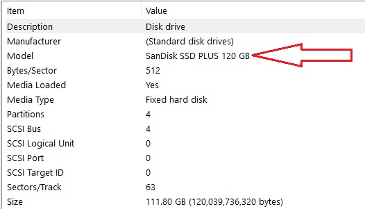 Check if SSD or HDD -3.4