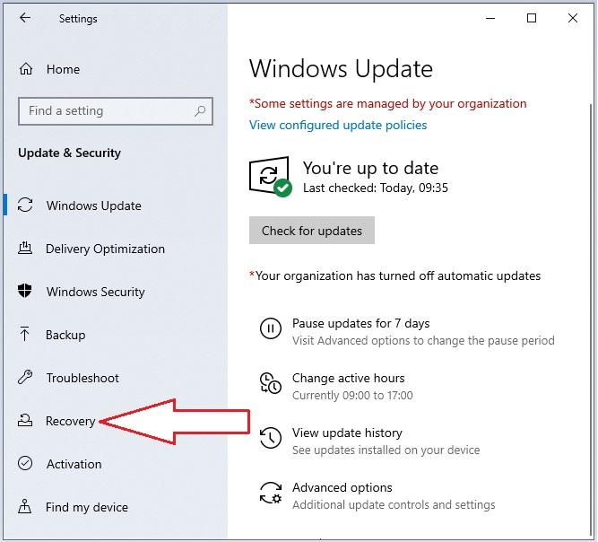 Windows 10 in Safe Mode 2.2