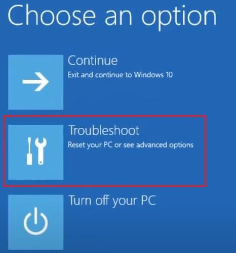 Windows 10 in Safe Mode 2.4