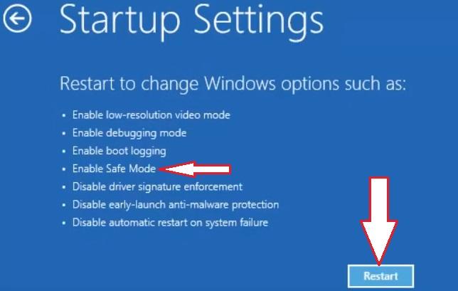 Windows 10 in Safe Mode 2.7