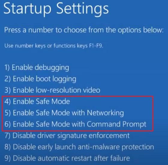 Windows 10 in Safe Mode 2.8